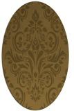 rug #306816   oval damask rug