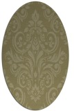 rug #307021 | oval light-green rug