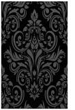 rug #307057 |  black traditional rug