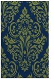 rug #307085 |  green damask rug