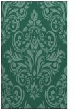 rug #307105 |  blue-green traditional rug