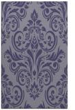 rug #307137    blue-violet traditional rug