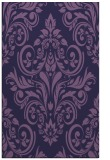 rug #307145 |  blue-violet traditional rug