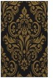 rug #307165 |  mid-brown damask rug
