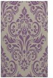 rug #307229 |  purple damask rug