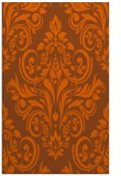 rug #307313 |  red-orange traditional rug