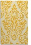 rug #307337 |  yellow traditional rug