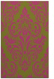rug #307377 |  light-green damask rug