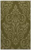 rug #307381 |  light-green damask rug