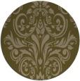 rug #307521 | round mid-brown popular rug