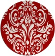 rug #307641 | round red rug
