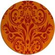 rug #307646 | round damask rug