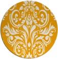 rug #307737 | round light-orange traditional rug