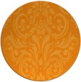 rug #307745   round light-orange rug