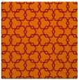 rug #308293 | square red-orange geometry rug