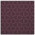 rug #308329   square purple geometry rug