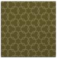 rug #308437 | square light-green rug
