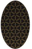 rug #308573 | oval geometry rug