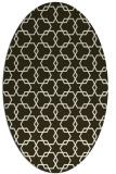 rug #308636 | oval geometry rug