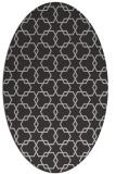 rug #308657 | oval red-orange rug