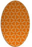 rug #308774   oval geometry rug