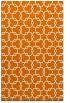rug #309001 |  orange popular rug