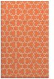 rug #309005    orange popular rug