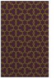 rug #309037 |  purple popular rug