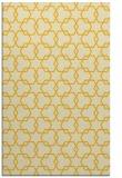 rug #309097 |  yellow geometry rug
