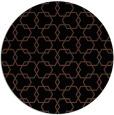 rug #309177 | round brown rug