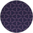 rug #309257   round purple popular rug