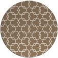 rug #309313 | round beige geometry rug
