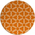 rug #309353   round orange rug