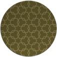rug #309493   round light-green rug