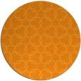 rug #309505 | round light-orange geometry rug