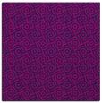 rug #311653 | square blue circles rug