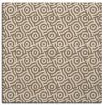 rug #311777 | square beige circles rug