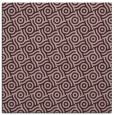 rug #311781 | square pink circles rug
