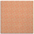 rug #311821 | square orange geometry rug