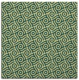 rug #311829 | square yellow circles rug