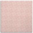 rug #311845 | square white circles rug