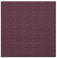 rug #311849 | square purple circles rug