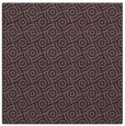 rug #311857 | square purple circles rug