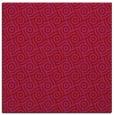rug #311877 | square circles rug