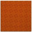 rug #311881 | square red-orange rug