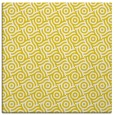 rug #311925 | square yellow rug
