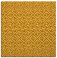 rug #311929 | square light-orange circles rug
