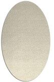 rug #312269 | oval yellow circles rug