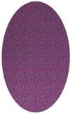 rug #312289 | oval geometry rug