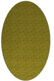 rug #312297 | oval light-green circles rug